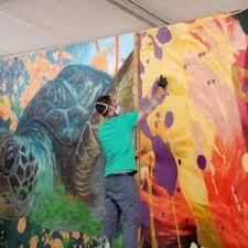 Spray Paint Artist - live performance art by spray paint artist arcy california mid