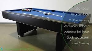 7ft pool table for sale hustler pool table 7ft or 8ft model ng2515pb youtube