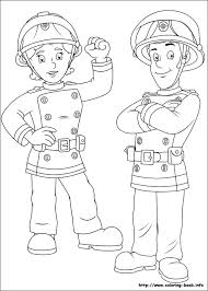 fireman sam coloring picture party 2ans simon