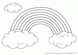 rainbow coloring printable picture coloring rainbow coloring