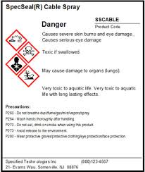 Ghs Safety Data Sheet Template Mirs M Sds Software