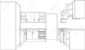 dessiner une cuisine en 3d amenagement interieur en inspirations et impressionnant plan cuisine
