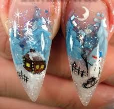 finding brilliant christmas nail art designs to get into the