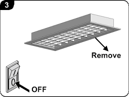 How To Install A Fluorescent Light Fixture Fluorescent Lighting How To Remove Fluorescent Light Cover Plate