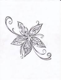 tribal tribal lotus flower hawaiian tribal