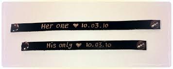 engraved bracelets valentine personalized leather bracelet for couplesl custom made