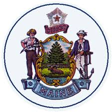 Maine State Flag Charles Lawton State Seal Reminds Us To Embrace New And Old