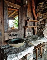 outdoor bathrooms ideas rustic bathrooms