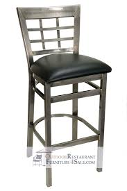 commercial metal bar stools