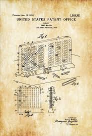 battleship game patent patent print board game art board