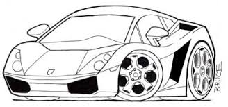 how to draw car caricatures and cartoons