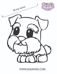 squinkies coloring page squinkies activities pinterest kids