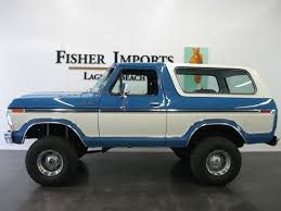 bronco car pre owned 1978 ford bronco in laguna beach ca serving