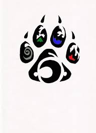 best 25 wolf paw tattoos ideas on pinterest wolf paw print