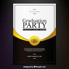 graduation invitation vectors photos and psd files free download