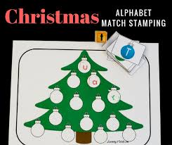 colorful and easy tree alphabet sting
