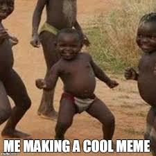 Black Kid Memes - third world success kid meme imgflip