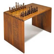 Chess Table Chess Table And Set 2 Works By Arthur Espenet Carpenter On Artnet