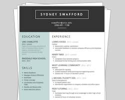 Resume With Color Resume 101 Language Design Color And What Not To Do Niner Times