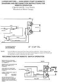 ao smith 2 speed motor wiring diagram