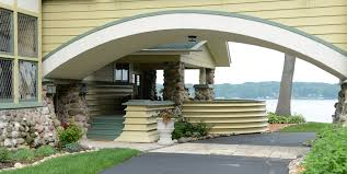 side porches penwern wright s porch design is built wright in racine