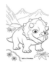 printable coloring pages dinosaur train image free printable