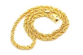 chain necklace hip hop images New hot sale men 39 s 7mm wide 30 quot fancy twist rope chain necklace jpg