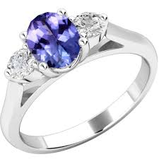 rings with tanzanite images Tanzanite diamond gemstone rings purely diamonds png