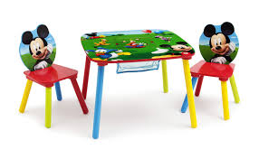 Mickey Mouse Furniture by Mickey Mouse Room In A Box 3d Bed Table Chairs Toy Organizer