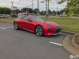 lfa lexus red lexus lc 500 2 august 2017 autogespot