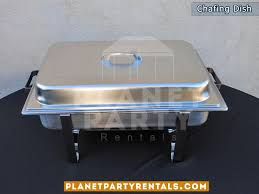 party rentals san fernando valley chafing dishes food warmers