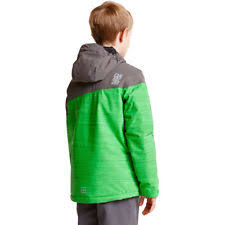dare2b declared kids ski jacket waterproof insulated girls boys