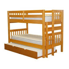 Bunk Bed With Trundle Trundle Bunk Loft Beds You Ll Wayfair