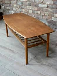 coffee table teak table brass coffee table shadow box coffee