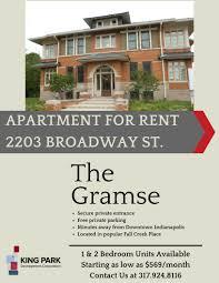 the gramse apartments king park development corporation