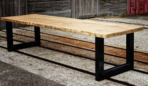 Oak Slab Table oak big slab table eiken plaathout tafel a photo on flickriver