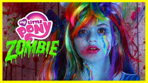 Life Is Good Halloween Shirt by Zombie My Little Pony Rainbow Dash Makeup Tutorial Equestria Doll