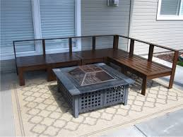 Plans For Wooden Patio Chairs by Wonderful Diy Outdoor Sectional Plans Ana White Build A Coffee