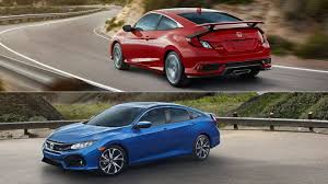 2017 honda civic sedan 2017 honda civic si coupe sedan revealed the drive