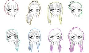 names of anime inspired hair styles anime female hairstyles names hair