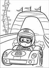 bubble guppies coloring pages coloringbook org