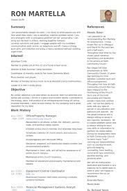 property manager resume property manager resume sles visualcv resume sles database