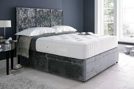 ottoman beds with mattress luna fabric ottoman bed beds on legs