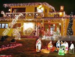 Decoration Of Christmas Crib by A House Decorated With A Crib And Other Pictures Getty Images