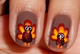 cool nail designs for thanksgiving beautify themselves with