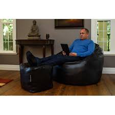modern bean bag the giant pod bean bag chair set u0026 reviews wayfair
