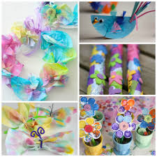 10 easy spring crafts for toddlers and preschoolers crafts