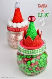 santa u0026 elf christmas mason jar gifts elves teacher and gift