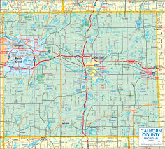 Mi County Map Marshall Area Chamber Of Commerce Maps