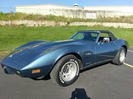 1975 corvette stingray for sale 1975 chevrolet corvette stingray convertible automatic w a c for